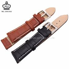 MG. ORKINA <b>Durable Genuine</b> Leather Watch Strap for <b>Men Women</b> ...