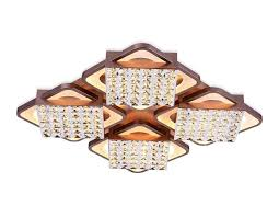 Люстра потолочная LED с пультом Cristal akril <b>FA129 Ambrella light</b>