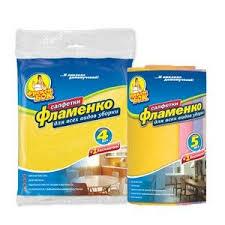 Салфетка Фрекен Бок для уборки Фламенко 5шт ... - Все для дома