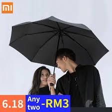 <b>Xiaomi Mijia Umbrella Automatic</b> Folding 【Ready Stock】 | Shopee ...