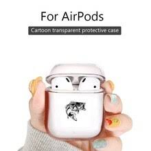 fashion Bluetooth <b>Headset Earphone</b> Cover <b>Case</b> For Airpods 2/1 ...