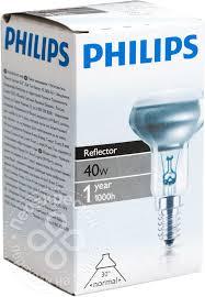Купить <b>Лампа накаливания Philips</b> Reflector NR50 E14 40Вт с ...