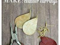 200+ Best <b>faux leather</b> earrings images in <b>2020</b> | leather earrings ...