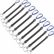 <b>10pcs</b>/<b>lot</b> fishing lanyards boating blue ropes secure pliers <b>lip</b> grips ...