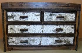 birch bark dresserjpg bark furniture