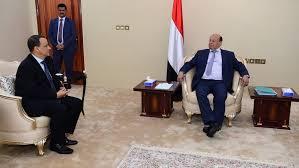 اليمن - الرئيس هادي يسلم مبعوث الأمم المتحدة رد حكومته على خطة السلام