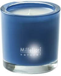 <b>Ароматическая свеча Холодная</b> вода Millefiori Milano Natural ...