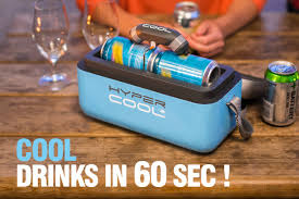 Cool Drink Fridge Hypercool The Fastest Way To Cool Drinks Official Hypercool