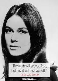 8 Best Gloria Steinem Quotes on Feminism and Life via Relatably.com