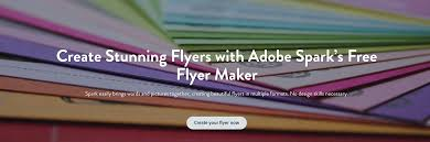flyer maker create beautiful flyers for adobe spark