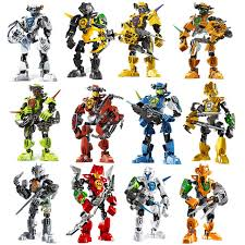 12pcs Hero Factory <b>Star Warrior Soldiers</b> Bionicle Surge Evo ...