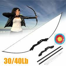<b>30</b>/<b>40lbs Archery</b> Hunting <b>Bow Recurve</b> Arrow Shooting <b>Compound</b> ...