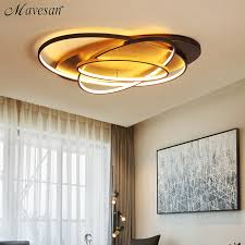 <b>New Arrival Modern Led</b> Ceiling Chandelier Coffee & White Color ...