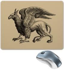 Коврик для мышки <b>Мистическое животное грифон</b> #2683972 от ...