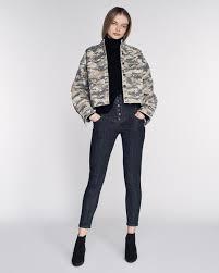 Flynn Heavy <b>Canvas Camo</b> Shirt Jacket | MARISSA WEBB