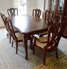 american dining room table formal dining room table and chairs by american drew