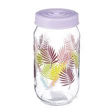 <b>Банка для сыпучих</b> продуктов HEREVIN Тропики, стекло, 1000мл ...