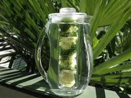Image result for cucumber lemon cilantro infused water