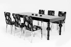 black gloss dining furniture