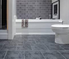 elegant stylish grey bathroom tile