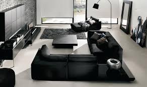 black living room furniture decorating ideas
