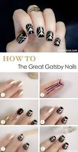 the great gatsby look i dont ever paint my nails but i art deco inspired pinterest