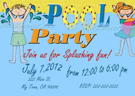 pool party invitations diy custom printable birthday party print pool party invitations diy custom printable birthday party print at home invites by mis2manos