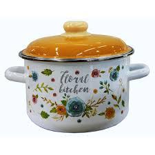 <b>Кастрюля</b> TM <b>Appetite</b> 6RD221M Floral kitchen, <b>5.5 л</b> в Казани ...