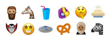 Lotus Notes Emoticons List Of New Emoji For 2017 Includes Flying Saucer T Rex And