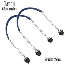 2019 New <b>TANQU 1 Pair</b> Obag Silver Short Single Thick Chain With ...