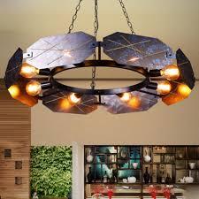 Loft <b>retro</b> industrial style paint <b>wrought iron</b> pendant lamp <b>LED</b> ...
