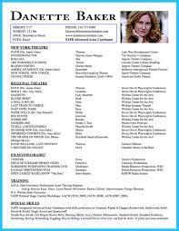 amazing actor resume samples to achieve your dream how to write acting resume template for beginners