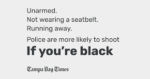 Unarmed. Not wearing a seatbelt. Running away. Police are more ...