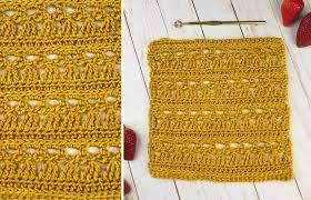Stunning Crochet <b>Lace Square</b> Pattern - The Little Angel <b>Square</b> -