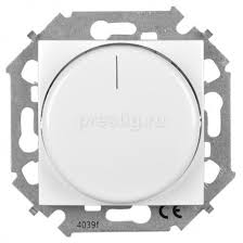 <b>Диммер Simon</b> 15 Белый <b>поворотный</b> для диммируемых LED ...