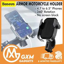 <b>Baseus Armor Motorcycle</b> Bicycle Phone <b>Holder Motorbike</b> ...