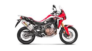 <b>Honda CRF1000L Africa</b> Twin 2019 Slip-On Line (Titanium ...