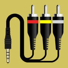 Распиновки AV-<b>кабеля</b> 3×RCA—TRRS (с трёх «колокольчиков ...