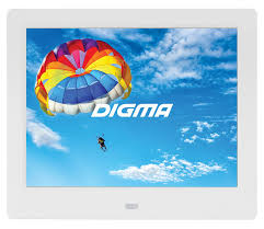 Купить <b>Цифровая фоторамка DIGMA PF-843</b> IPS, белый в ...