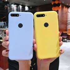candy color silicone phone case on for huawei honor 7a 7c ... - Vova