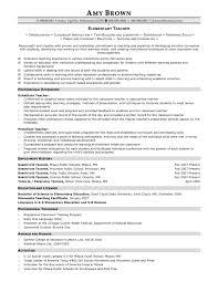 sample resume preschool teacher first resume examples eachteachco elementary school teacher resume example resume teacher resume samples for new teachers preschool teacher resume samples