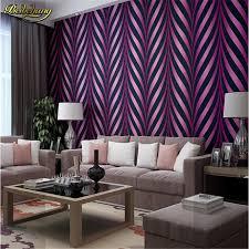 <b>beibehang New</b> High <b>quality</b> Modern Luxury photo 3D striped ...