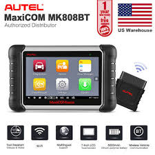 <b>Autel MaxiCOM MK808BT</b> ALL Systems Auto Diagnostic Tool <b>OBD2</b> ...