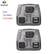 2pcs remote key 4d60 chip car flip folding uncut fo21 blade 3 button 433 315mhz for focus mk1 mondeo transit connect
