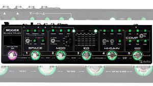 <b>Гитарный процессор mooer Black</b> Truck новый купить в Москве ...