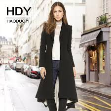 <b>HDY Haoduoyi Autumn Winter</b> New Fashion Casual Women Slim ...