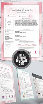 cv resume templates bies graphic design resume template 2017