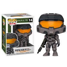 <b>Фигурка Funko POP</b>! Vinyl: Games: <b>Halo</b> Infinite: Spartan Mark VII w ...