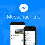 Facebook Messenger Lite for Android Now Available in the US: Here's What it Does