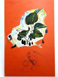 "Original Lithograph ""Flordali - <b>Wild</b> Blackberries"" by <b>Salvador Dali</b> ..."